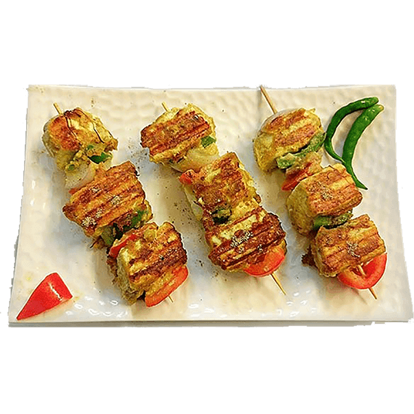 Indian Angoori Paneer Tikka