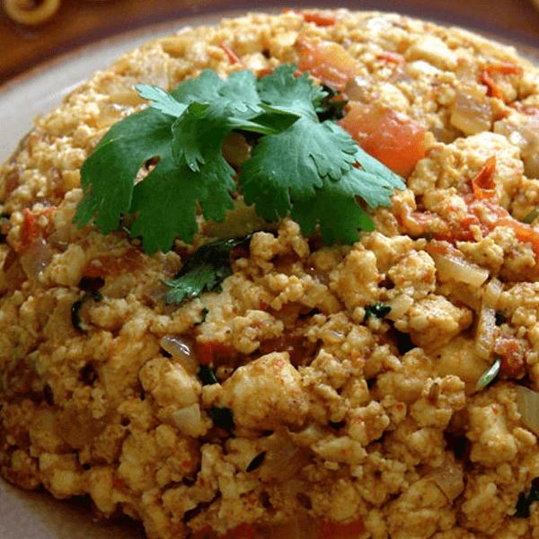 How to Make Cauliflower Paneer Bhurji Recipe