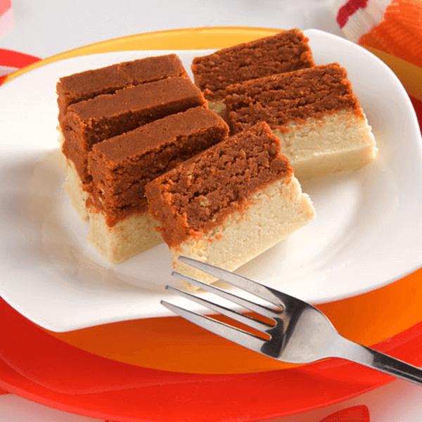 Delicious chocolate burfi Recipe